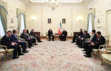 President: Iran-Europe ties developing/Terrorist groups a consequence of foreign intervention, occupation
