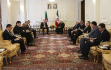 President underlies expanding economic ties between private sectors of Iran and Algeria