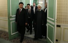 Meeting of high-ranking delegations of Iran and China