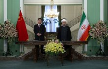 "President: Iran-China ties strategic/ A new chapter in Tehran-Beijing ties started/ Chinese President: We decided to establish ties based on ""Comprehensive Strategic Partnership"""