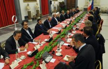 President Rouhani, Italian PM kick off official meeting