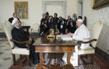 Meeting with Pope Francis, Vatican Secretary of State