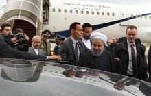 President arrives in Paris/Rouhani: A new chapter in Iran-EU ties, incl. France has begun