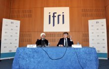 Visiting Ifri institute, meeting with intellectuals