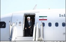 President arrives in Yazd province