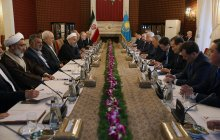 Iran determined to develop ties with Kazakhstan/Signing 66 coop. docs between private, public sectors of Iran, Kazakhstan a turning point in Tehran-Astana ties