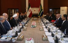 Iran-S. Africa ties development to have positive regional, int'l effects/We don't forget close friends during sanctions/S. Africa can be one of Iran's key business partners