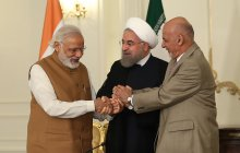Message of Chabahar agreement; joint cooperation, belief, using regional opportunities for development
