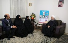 Visiting the family of Baghdadi martyrs