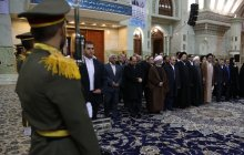 President, cabinet recite their pledge to lofty ideals of the late Imam Khomeini, martyrs