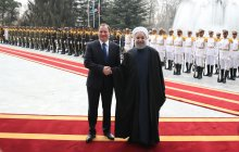 President Rouhani officially welcomes Swedish PM