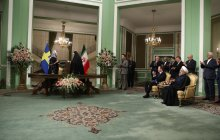 Iran, Sweden ink 5 coop. documents