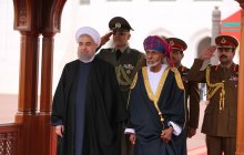 Sultan of Oman officially welcomes Dr Rouhani