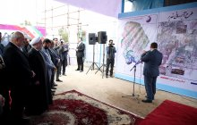 President visits Ahwaz No. 2 Water Treatment Plant/Standby generator for Ahwaz drinking water facilities unveiled