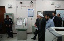 President visits AMAK programme in Khuzestan/Preventing 241m cubic feet of sour gas burned per day