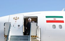 President Rouhani arrives in Sistan and Baluchistan