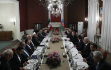 Meeting of high-ranking delegations of Iran and Azerbaijan