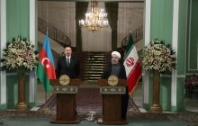 Press conference of Iranian and Azerbaijani presidents