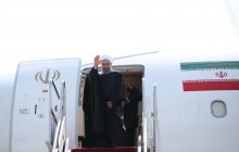 President leaves Tehran, heading for Moscow