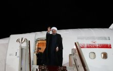 President Rouhani leaves Moscow for Tehran