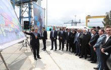 Opening Phase 2 of AmirAbad Port Special Economic Zone