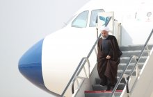 President arrives in Asaluyeh
