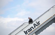President Rouhani arrives in Tabriz