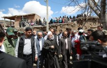 Visiting flood-ravaged Chenaar village in East Azerbaijan