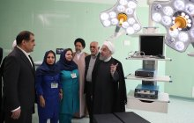 President opens 600-bed Bu-Ali Sina Hospital in Shiraz