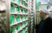President makes pilgrimage to Shah Cheragh's holy shrine