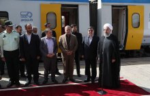 President arrives in Qazvin province