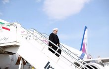 President arrives in Golestan province