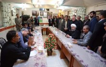 Meeting with the bereaved families of Azadshahr mine blast