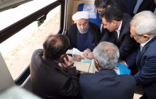 Hamedan-Tehran railway starts operation