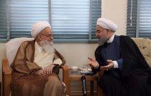Meeting with Grand Ayatollah Safi Golpayegani
