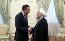 Meeting with Kazakh foreign minister