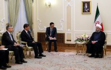 Meeting with Chinese President's special envoy