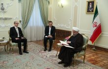 Meeting with new Austrian ambassador to Tehran