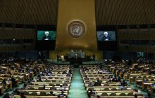 Addressing United Nations General Assembly
