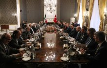Meeting of high-ranking delegations of Iran and Turkey