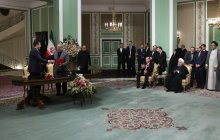 Iran, Turkey sign 4 cooperation pacts