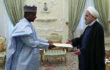 Receiving new Nigerian Ambassador's letter of credence