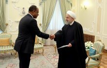 Receiving credentials of the new Tanzanian non-resident ambassador to Tehran