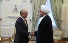 Meeting with the Director-General of International Atomic Energy Agency