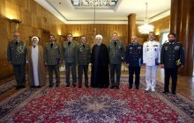 Meeting with senior army commanders
