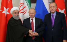 Statement by the Presidents of Iran, Russia and Turkey /We will continue to work together until the final defeat of the terrorist groups