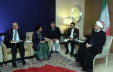 Meeting with Indian FM