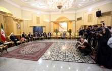 Syria's future belongs to the country's future/Global community must back Syrian people's wish/No military solution to Syria/Bilateral, regional issues to be discussed in the summit