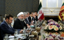 Meeting of high-ranking delegations of Iran and Sri Lanka