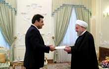 Receiving new Lebanese ambassador's credentials